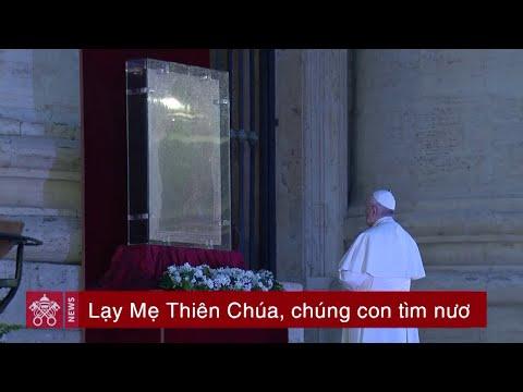 Đức Thánh Cha mời gọi đọc kinh Mân Côi trong tháng 5