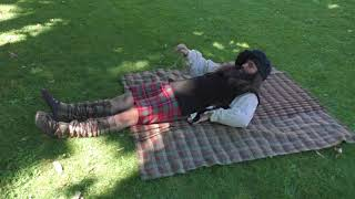 How to wear a Belted Plaid / Great Kilt