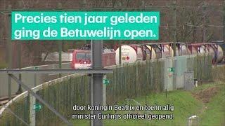 Betuwelijn faalt al tien jaar lang - RTL Z NIEUWS