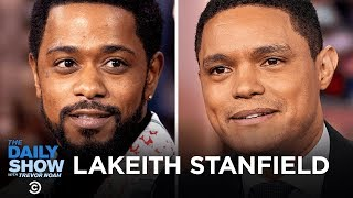"""Lakeith Stanfield - """"The Photograph"""" and Picking Diverse Roles That Speak to Him   The Daily Show"""
