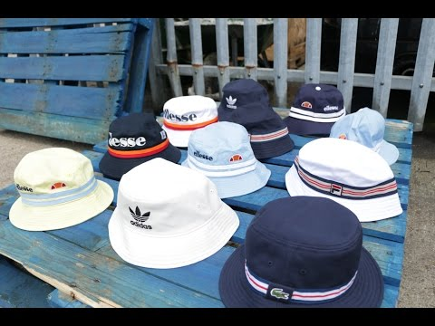 Bucket Hats 2016 - Ready for the STONE ROSES - Fila, Ellesse, Adidas, Lacoste & More!