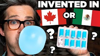 Are These Inventions From Canada Or Mexico?