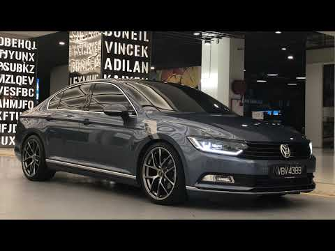 VWB8Nation Malaysian Passat B8 Havard Blue [4K Video]