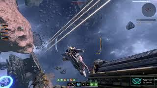 Star Conflict - Игровой процесс(Захваченный дредноут)