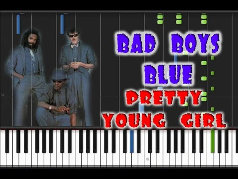 Bad Boys Blue - Pretty Young Girl Piano Cover [Synthesia Piano Tutorial]