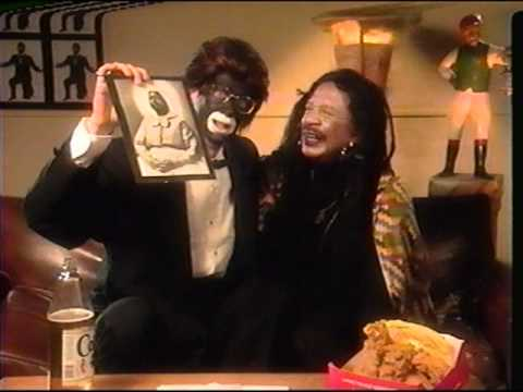Today, during the press tour for his book, Howard Stern denied ever saying the N-word. Here's him saying the N-word, repeatedly, in blackface.