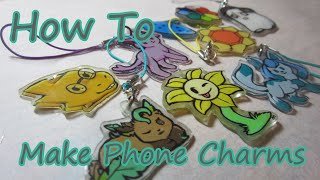 How To Make Phone Charms!