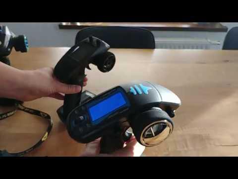 7Ch 2.4Ghz transmitter+waterproof gyro receiver