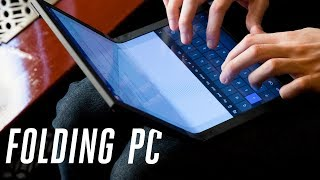 Lenovo's foldable PC hands-on: this was inevitable