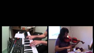 Beach House - Home Again [Piano + Violin Cover]