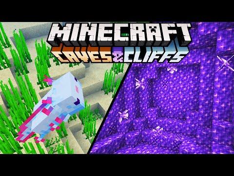Minecraft 1.17 Cave Update große Zusammenfassung! - Alle neuen Features!
