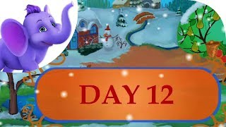 Twelve Days of Christmas with Lyrics | Kids Christmas Songs and Carols | Christmas 2018