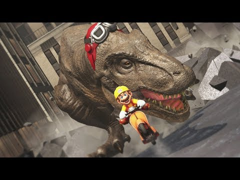 Super Mario Odyssey - Dinosaur Attack! - Part 11