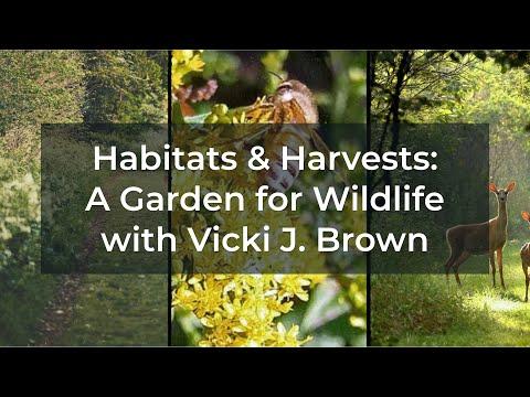 Habitats & Harvests: A Garden for Wildlife