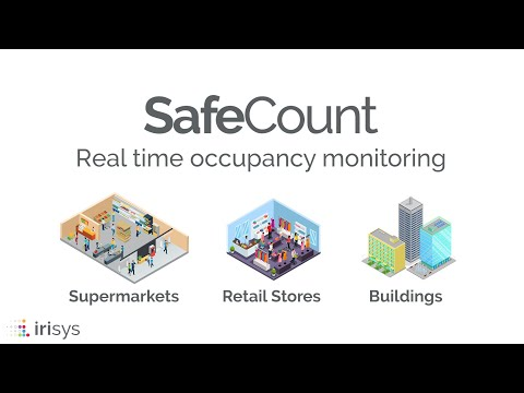 IRISYS SafeCount Customer Flow Management Solution