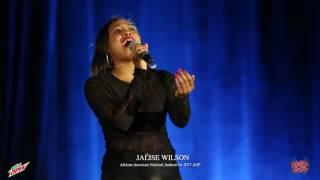 Jalise Wilson (DST) sings Black National Anthem at 2017 Atlanta Greek Picnic #DewXAGP #AGP2017