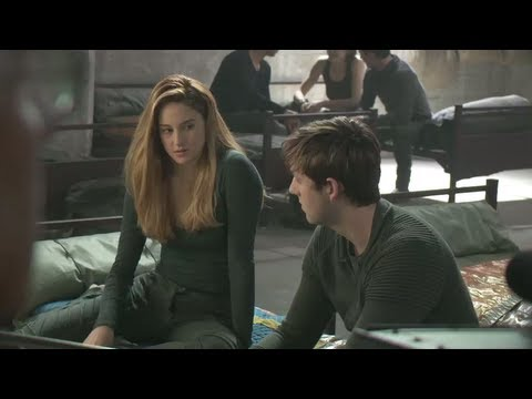 divergent preview taking a stand behind the scenes