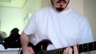 Descendents - alive cover on guitar