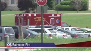 Fire at Local Elementary School