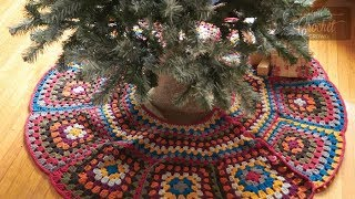 Stitch Along: Crochet Christmas Tree Skirt