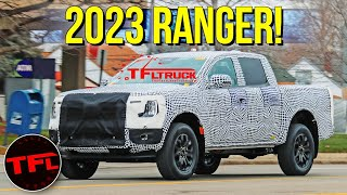 Breaking News: Here Is Your First Look at the 2023 Ford Ranger! by The Fast Lane Truck
