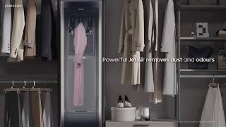 YouTube Video 7Rue-3cEHok for Product LG Styler Steam Clothing Care System by Company LG Electronics in Industry Laundry