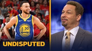 Steph Curry played terrible, but doesn't deserve that much blame— Chris Broussard | NBA | UNDISPUTED