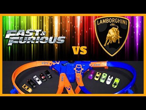 LAMBORGHINI vs FAST & FURIOUS CRASH TOURNAMENT !!!