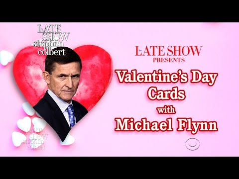 Michael Flynn Is Working Again, On His Valentine's Day Cards