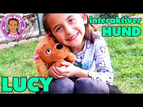 LUCY HUNDEWELPE HÖRT AUF BEFEHLE | CuteBabyMiley