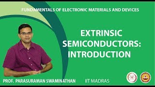 Extrinsic semiconductors: Introduction