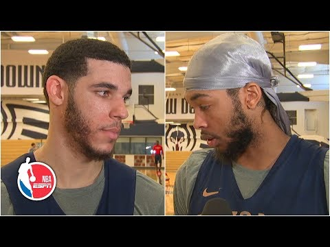 Lonzo Ball, Brandon Ingram preview Pelicans' opener without Zion   NBA on ESPN