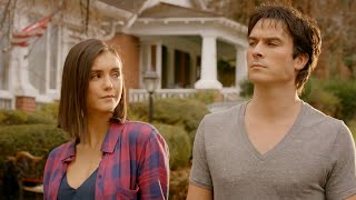 The Vampire Diaries 8x16 End Ending: Damon and Elena human together