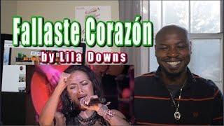 Fallaste Corazón REACTION   Lila Downs LIVE (Concierto En VIVO)   Listening Party