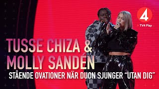 "Molly Sandén & Tusse Chiza - ""Utan dig"" - Idol 2019 - Idol Sverige (TV4)"