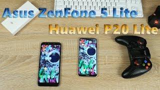 Что купить Huawei P20 Lite или Asus ZenFone 5 Lite в 2018 году?