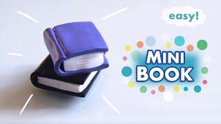 Miniature BOOK Prop | Polymer Clay Tutorial