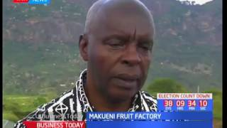 Farmers in Makueni County go big on fruit farming as fruit factory is opened