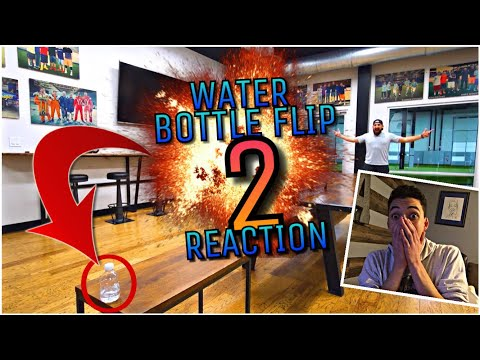 Water Bottle Flip 2 | Dude Perfect- REACTION!