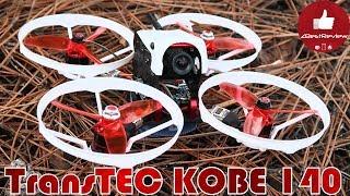 ✔ FPV Квадрокоптер TransTEC KOBE 140 - Летает еще Дольше! Banggood!