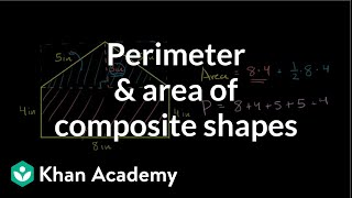 Perimeter and Area of a Non-Standard Polygon