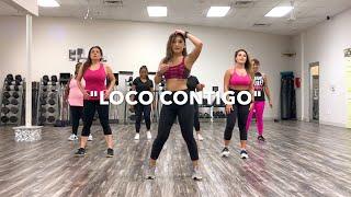 "DJ SNAKE JBALVIN TYGA   ""LOCO CONTIGO"" DANCE FITNESS"