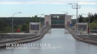 Main-Danube Canal Lock - Avalon Waterways River Cruise