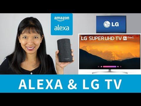 How to Setup Alexa with LG 4K Ultra HD Smart LED ThinQ TV
