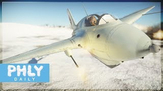 The Nazi Secret Rocket Interceptor... now better (War Thunder Rocket Fighter Gameplay)