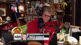 Matt Damon on Red Sox (7/28/16)