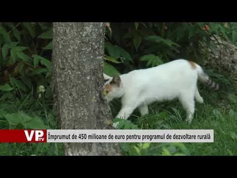Împrumut de 450 milioane de euro pentru programul de dezvoltare rurală