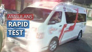 Mobil Ambulans untuk Rapid Test akan Disebar di 5 Wilayah di Kota Surabaya