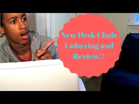 New Desk Chair Unboxing and Review!!