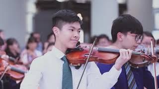 香港青少年管弦樂團(MYO) 2016 Airport Flash mob Performance [Official]